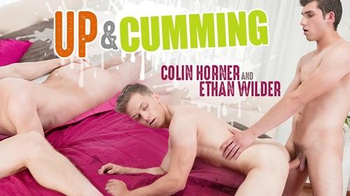 Up & Cumming, Sc.4: Ethan Wilder Fucks Colin Horner (Bareback)